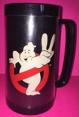 Vintage Ghostbusters 2 Thermo Serv Plastic Cup / Mug