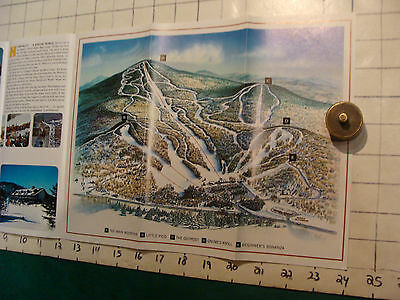 Vintage High Grade SKI Brochure: PICO the friently mountain; 1971