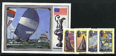 Dominica 1014-8 MNH Yacht, America Cup