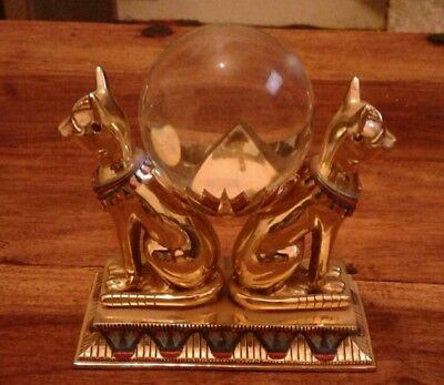 The Franklin Mint Egyptian The Crystal Ball of Bast