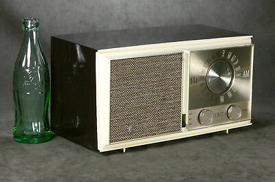 Zenith Model M723 AM/FM Seven Tube Radio From 1956 Serviced, Working Well