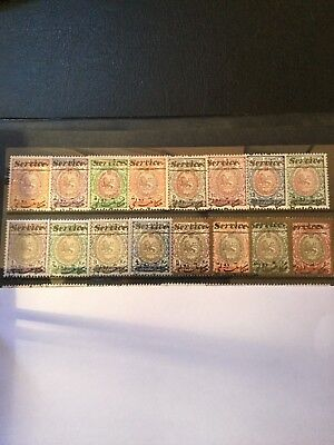 Old pars Middle East stamps