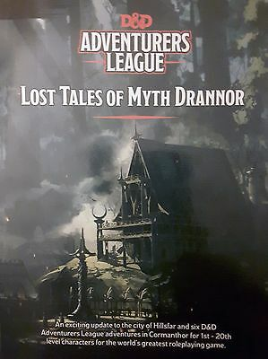 Lost Tales of Myth Drannor - D&D Adventurer's League - Gencon 50 Exclusive Promo