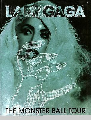 Lady Gaga 2009 The Monster Ball Tour Concert Program Book / Nmt 2 Mnt