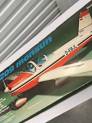 Graupner BO-209 Monsun Very Rare Classic Low Wing Airplane Kit