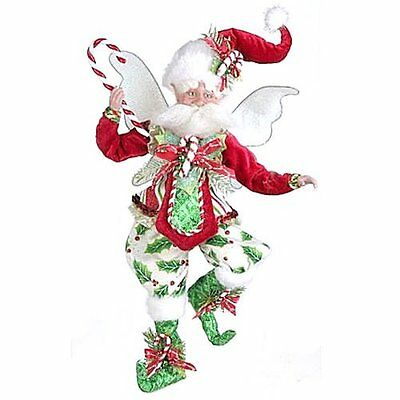 Mark Roberts Candy Cane Holly Fairy Med New In Box Ltd Ed 201/1000 Retired
