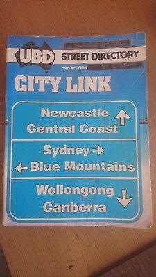 UBD City link street directory : Newcastle, Central Coast, Sydney, Blue Mountain