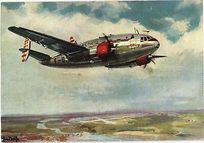 Air Algérie Sud-Ouest Bretagne Airline Issue. Aviation Airplane Postcard