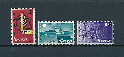 Israel 345-7 MNH, June Military Campaign Victory, 1967