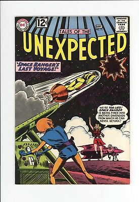 Tales Of The Unexpected #72 - High Grade Vf+ 8.5 - Space Ranger - Great Cover!