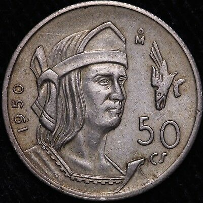 1950 Mexico 50 Centavos - FREE Worldwide Shipping!