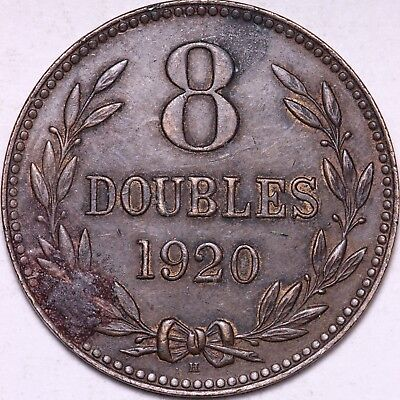 1920 Guernesey 8 Doubles - FREE Worldwide Shipping!