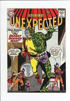 Tales Of The Unexpected #76 - Higher Grade - Space Ranger - Great Cover 1963