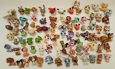 Littlest Pet Shop Lot of 89 Dogs Cats Red Magnet Animals +