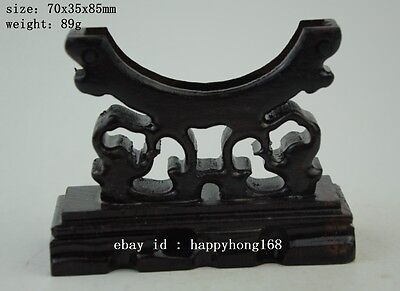 Chinese classic style 100% wood Bracelet holder wood stand hairpin stand