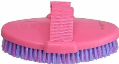 Grooming Body Brush With Strap  Horse Dog Cow Cat ~ Set Of 6 In Pink