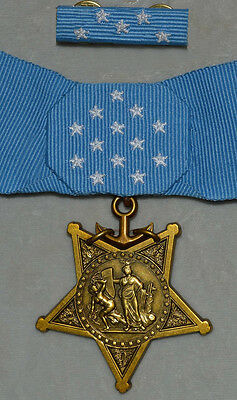 Cased US Medal Order Orden Badge Order of Medal Honor of Navy Selten WW2 Rare!!