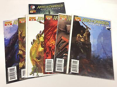 Army of Darkness From the Ashes #1-4 (Dynamite/101469) COMPLETE SET LOT OF 7