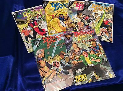 Dragon's Lines #1-4 (Ron Lim/0814118) comic book complete set lot of 6