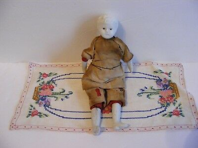 Small Antique Bisque China Doll From Estate Sale
