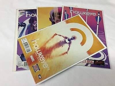Hawkeye #1-4 (Marvel/2015/lemeire/0915190) Comic Book Set Lot Of 4