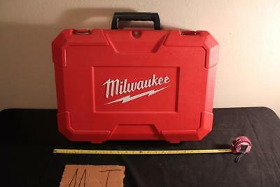 EMPTY CASE ONLY FOR Milwaukee 18V 2621-21 Reciprocating Saw & KIT 2621-21