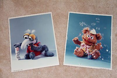 2 Hard to find Muppet Babies production Photos - Henson Associates 1983