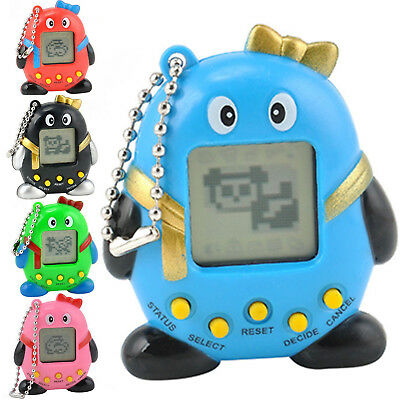 Funny 168 Pets in One Virtual Pet Cyber Pet Toy Tamagotchi Mini Penguins PO