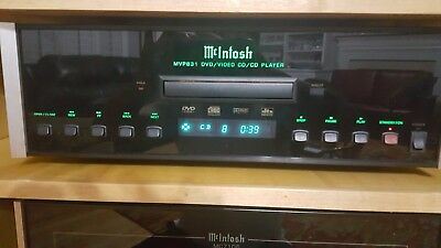 McIntosh MVP831  CD and DVD Player in fully working good physical shape