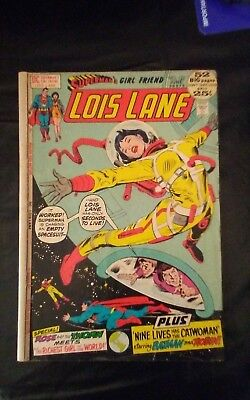 Superman's Girlfriend Lois Lane #123 June 1972 good DC comics