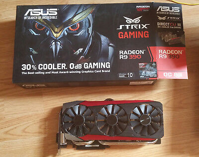 Asus - Radeon R9 390 8GB Video Card (STRIX-R9390-DC3OC-8GD5-GAMING)