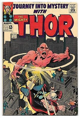 Journey into Mystery with the Mighty Thor #121 Marvel Comics 4.5 VG+ 1965