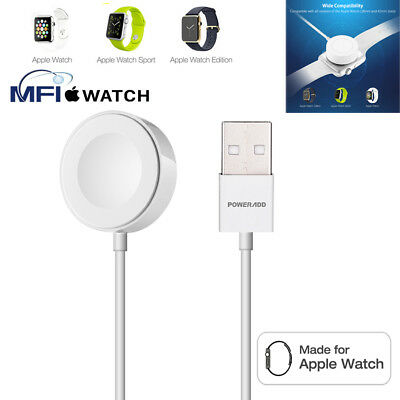 2M Magnetic Charger Charging Cable For Apple Watch Edition iWatch 38mm & 42mm
