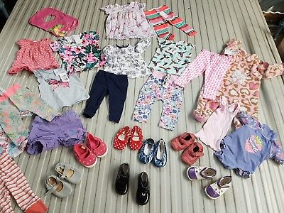 Baby girls bulk bundle of size 0 clothes*7 items new with tags