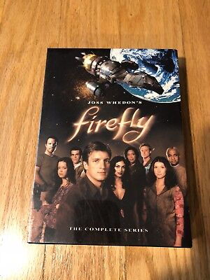Firefly The Complete Series (DVD, 2003, 4-Disc Set) Brand New Sealed. Classic!