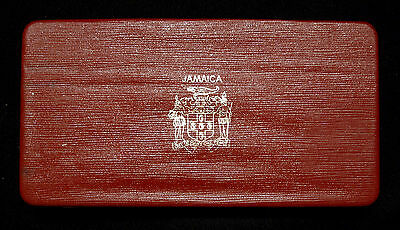 1969 Jamaica Proof Set of 6 Coins with Case, COA