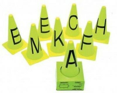 Horse Dressage Stand Out  Markers Neon Coloured Witches Hat  ~  8 Piece Set