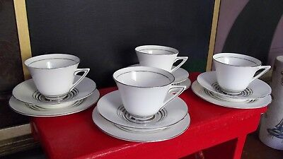 Antique Royal Doulton Tea Set Art Deco 4688 Royalty