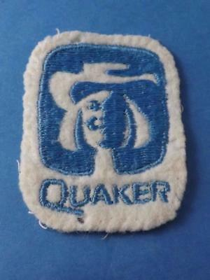 Quaker Oates Vintage Logo Patch Food Advertising Collector
