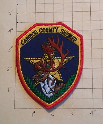 Caribou County (Soda Springs,ID) Sheriff's Office Patch           ***NEW***