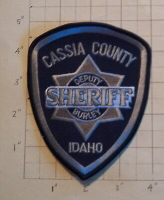 Cassia County (Burley,ID) Subdued Sheriff's Office Patch        ***NEW***
