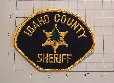 Idaho County (Grangeville,ID) Sheriff's Office Patch             ***NEW***
