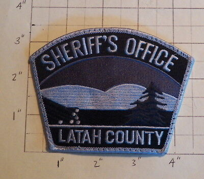 Latah County (Moscow, ID) Subdued Sheriff's Office Patch