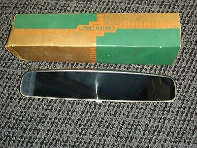 NOS 1961-1967 Chevy Rear View Mirror 987701 Date Coded 1DMI61 Day / Night NIB