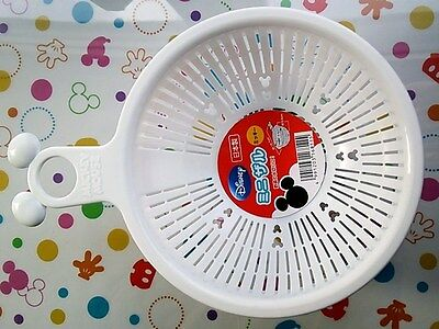 New Disney Mickey Mouse Kitchen Mini Vegetable Fruit Washing Bowl Made in Japan