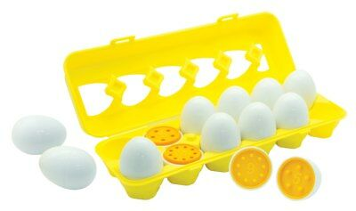 NEW First Play Match and Count Eggs Kids Children Toy