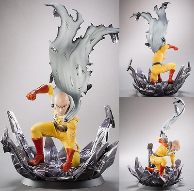 One Punch Man Saitama PVC statue figure 10in. Hero come back from the moon tsume