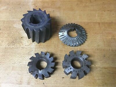 Horizontal milling cutters - Atlas milling machine