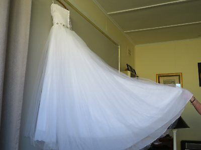 Custom Wedding dress - Size 10