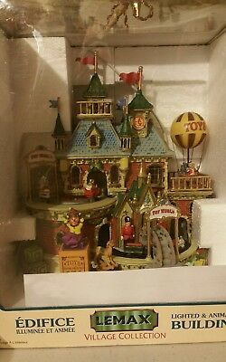 LEMAX CAROLE TOWNE TOY WORLD ANIMATED MUSICAL VILLAGE does NOT work/ tested